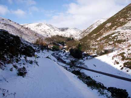 Cardingmill valley in winter